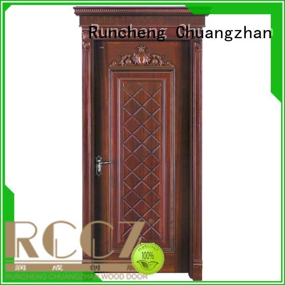 eco-friendly rosewood composite door wooden factory for hotels