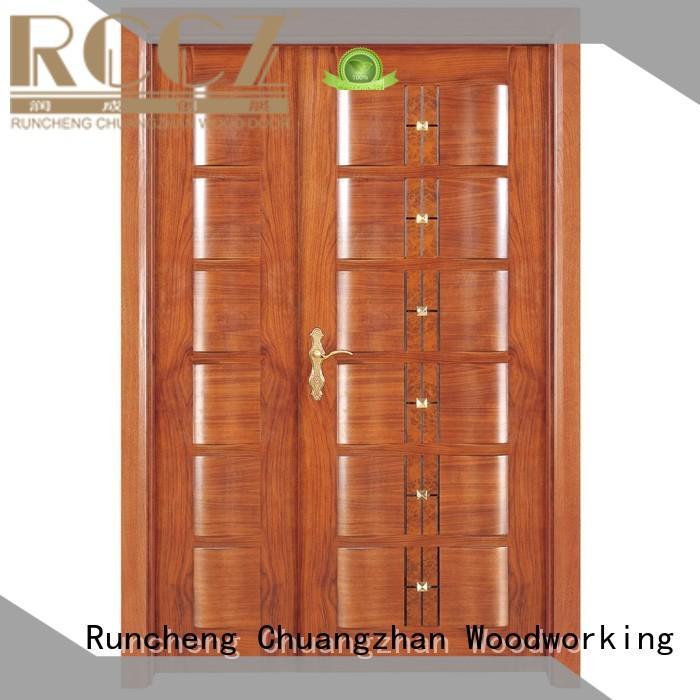 wooden double glazed doors wooden supplier for indoor