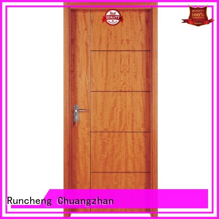 Runcheng Chuangzhan Best solid wood door designs suppliers for villas