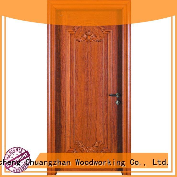 Quality solid wood bedroom composite door Runcheng Woodworking Brand design solid wood composite doors