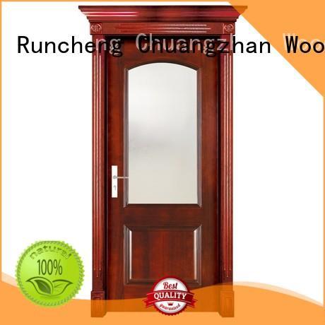 high quality interior solid wood bifold doors Runcheng Woodworking Brand