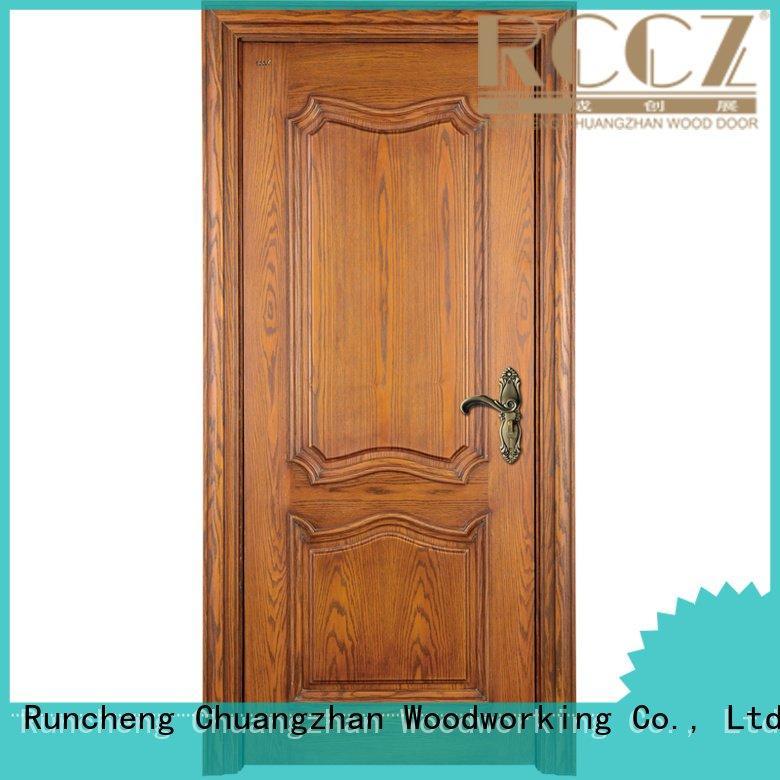 Runcheng Woodworking Brand x019 pp007 pp005t solid wood bedroom composite door