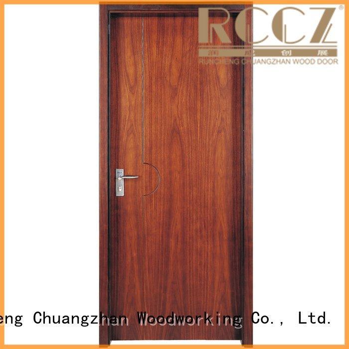 veneer x052 solid wood composite doors s039 Runcheng Woodworking