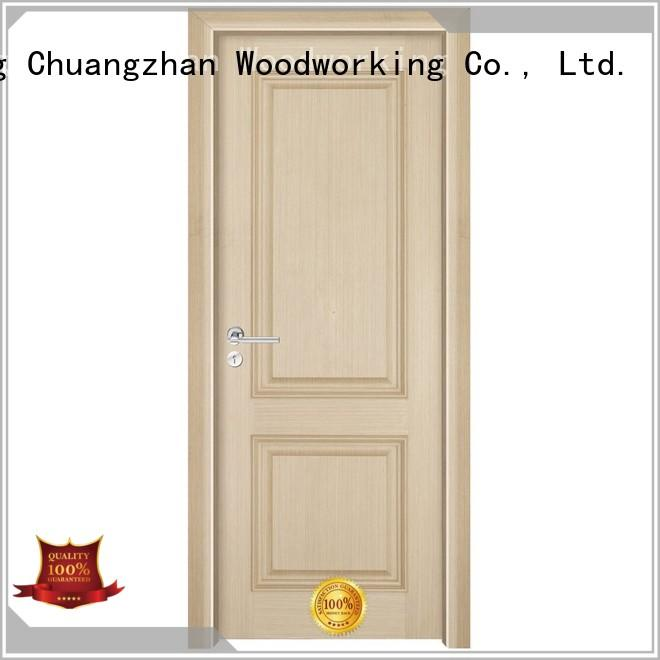 veneer door solid wood composite doors Runcheng Woodworking Brand