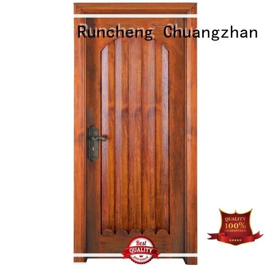 Runcheng Chuangzhan Latest solid wood door company manufacturers for homes