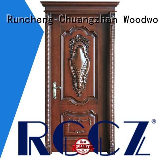 Runcheng Chuangzhan design rosewood composite door for business for indoor