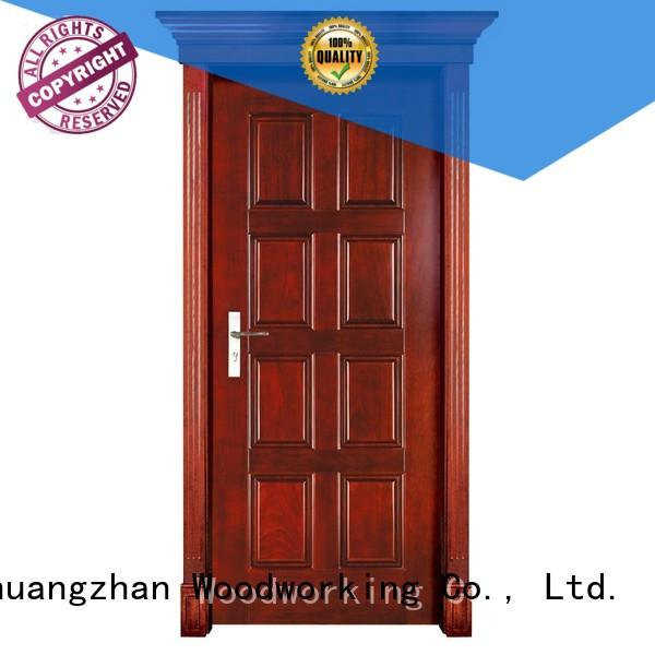 Wholesale interior solid wood interior doors for sale high quality Runcheng Woodworking Brand