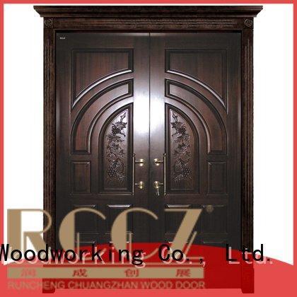 modern double door interior double doors Runcheng Woodworking
