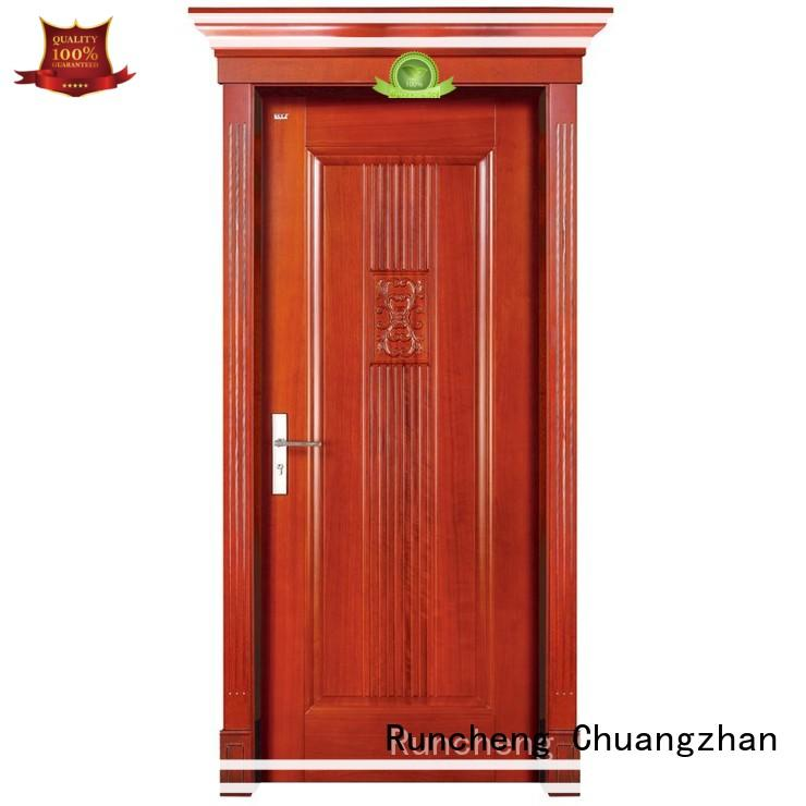 Runcheng Chuangzhan Best solid wood doors factory for homes