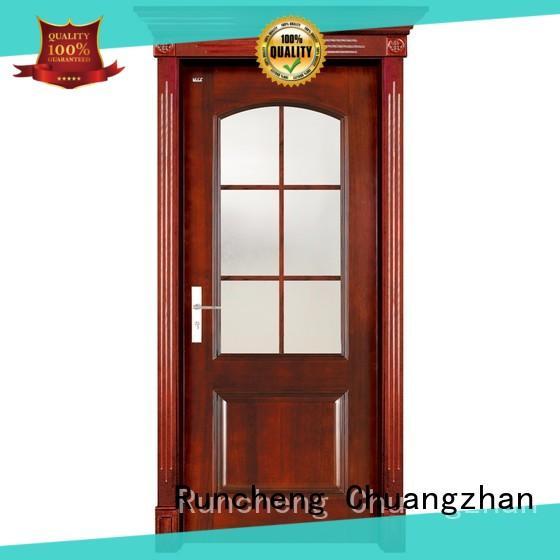 Runcheng Chuangzhan attractive hardwood doors for sale supplier for homes