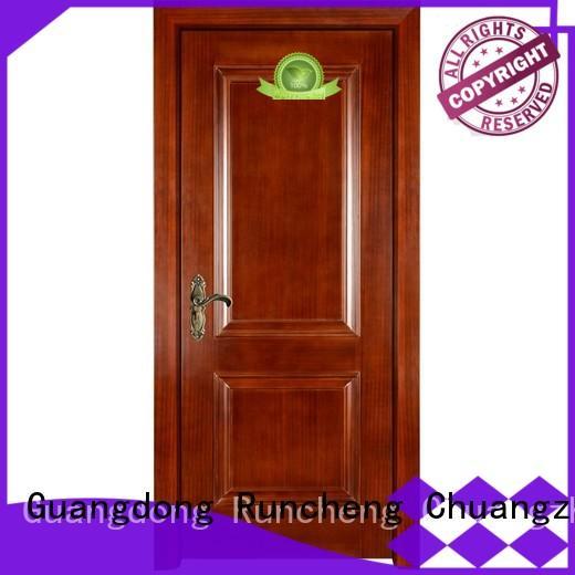 Runcheng Chuangzhan high-grade wood composite front doors Suppliers for villas