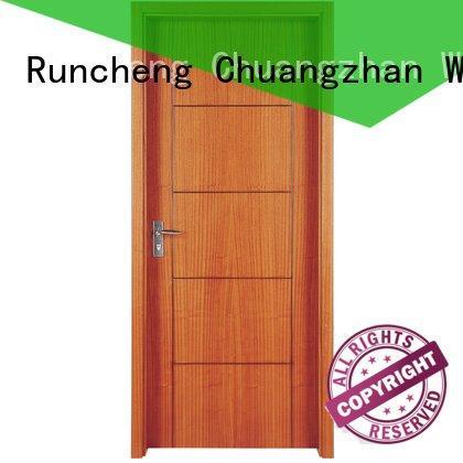 Runcheng Woodworking Brand x052 x023 pp003t solid wood composite doors