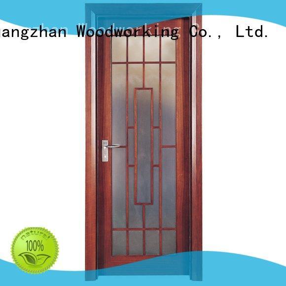 Runcheng Woodworking Brand pp0014 solid wood bedroom composite door pp016 x025