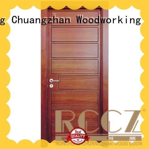 Runcheng Chuangzhan interior wood composite door factory for offices