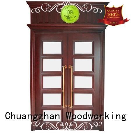Best double entrance doors composited factory for indoor