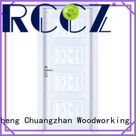 Runcheng Chuangzhan New solid wood composite doors factory for homes