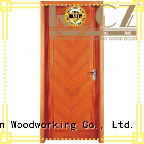 Runcheng Woodworking Brand modern interior solid solid wood composite doors