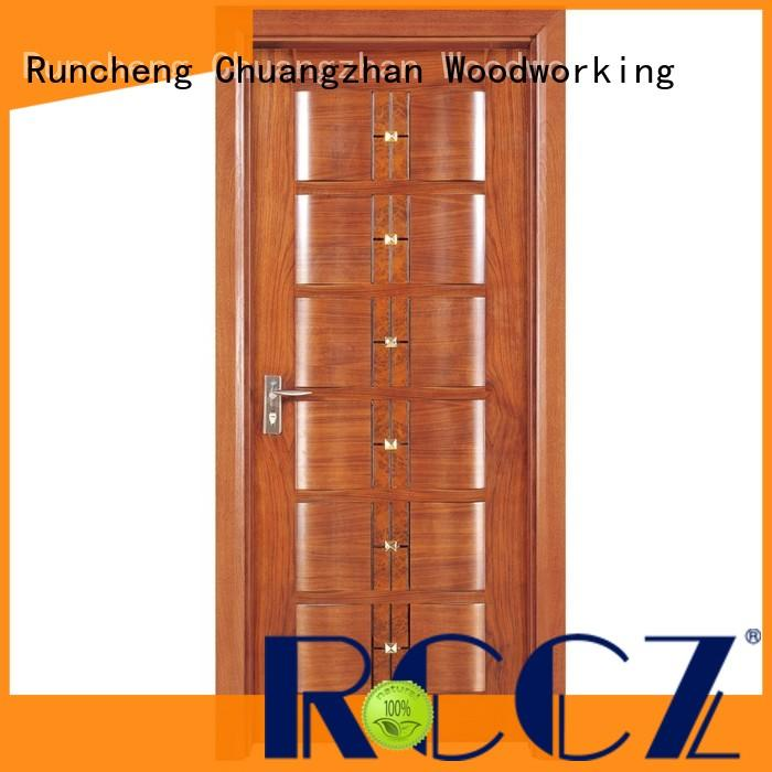 Wholesale wooden moulded doors veneer suppliers for offices