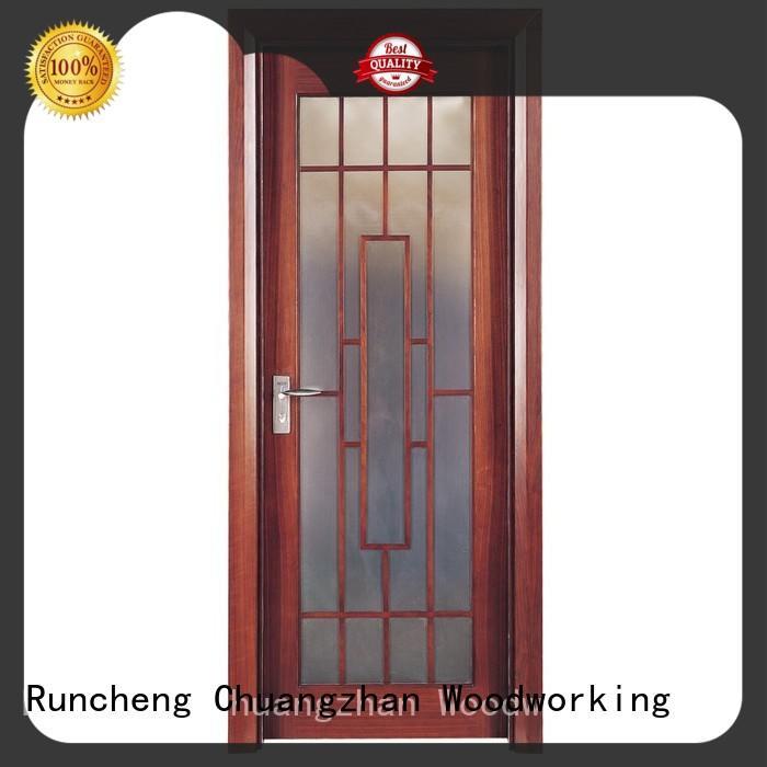 Runcheng Chuangzhan modern rosewood composite door Supply for indoor
