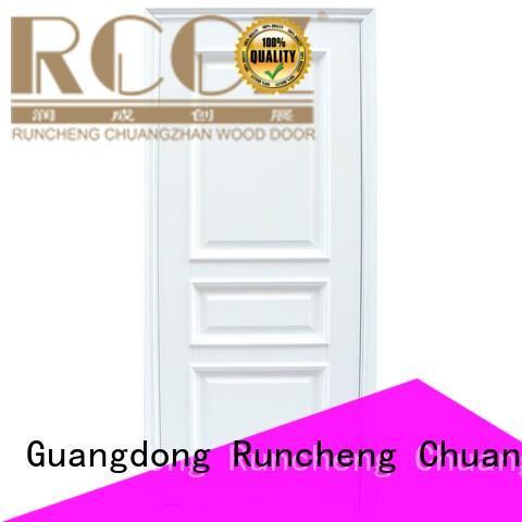 Runcheng Chuangzhan veneer solid wood door designs factory for offices