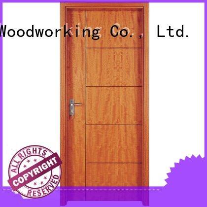 Quality solid wood bedroom composite door Runcheng Woodworking Brand k008 solid wood composite doors