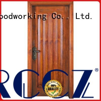 Runcheng Chuangzhan residential custom wood entry doors wholesale for hotels