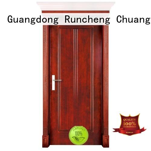 Runcheng Chuangzhan residential solid wood interior doors for business for villas