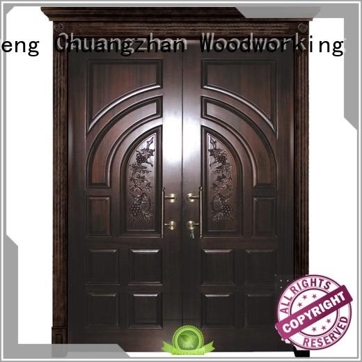 Runcheng Chuangzhan New double entrance doors factory for hotels