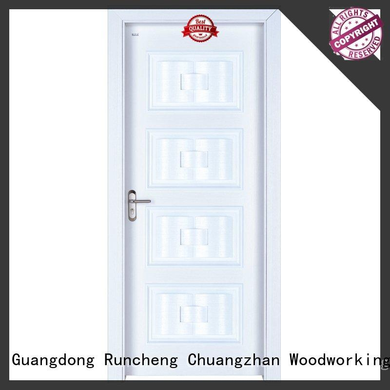 Runcheng Chuangzhan design wood effect composite door Suppliers for offices