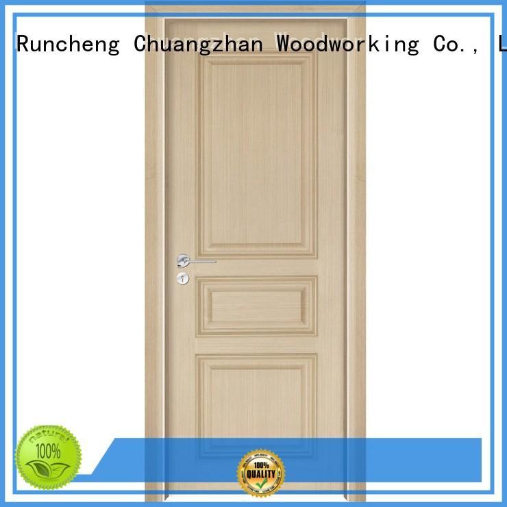 veneer design modern Runcheng Woodworking Brand wooden kitchen cabinet doors factory