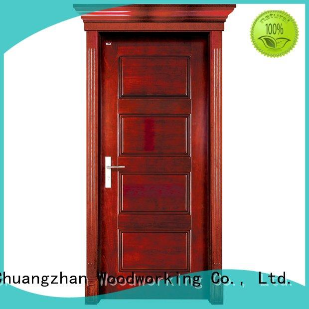 solid wood interior doors for sale door Runcheng Woodworking Brand solid wood bifold doors
