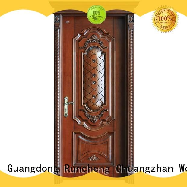 Runcheng Chuangzhan wooden moulded doors supply for hotels