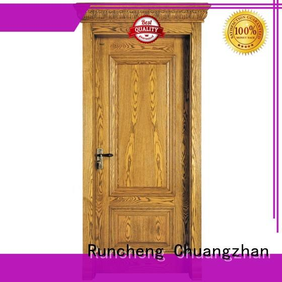 Wholesale wood composite front doors company for indoor