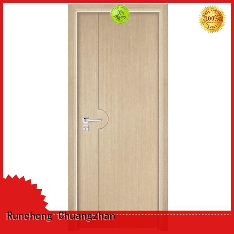 Runcheng Chuangzhan eco-friendly solid composite wooden door company for indoor