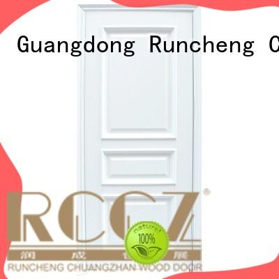 Runcheng Chuangzhan interior solid composite wooden door manufacturers for villas