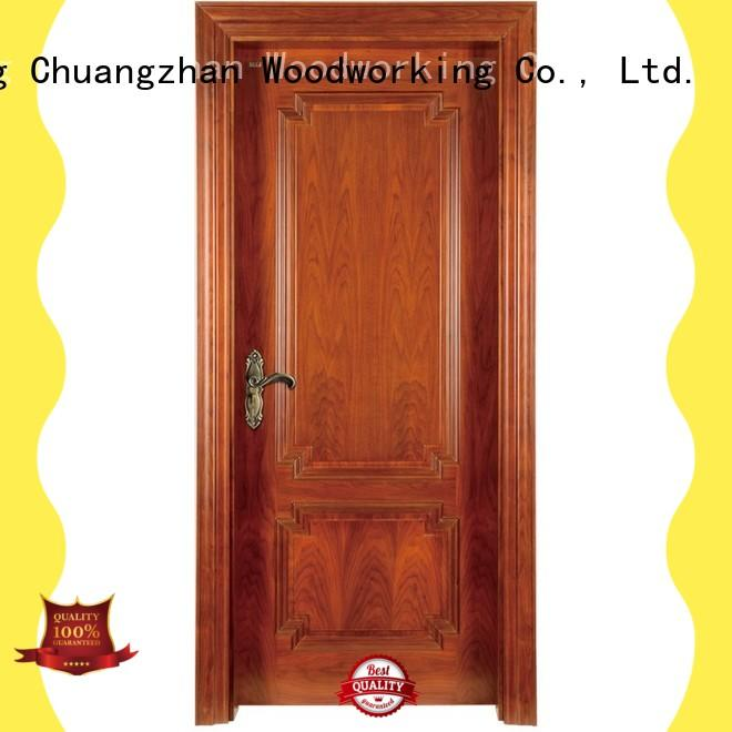 Runcheng Chuangzhan High-quality wood composite door supply for offices
