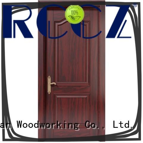 Runcheng Chuangzhan modern wood composite door Suppliers for homes