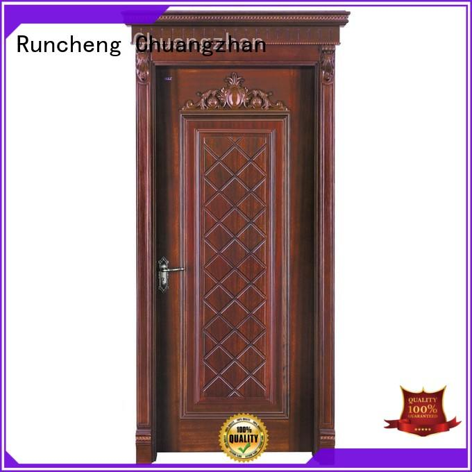 Runcheng Chuangzhan Custom composite wood factory for villas