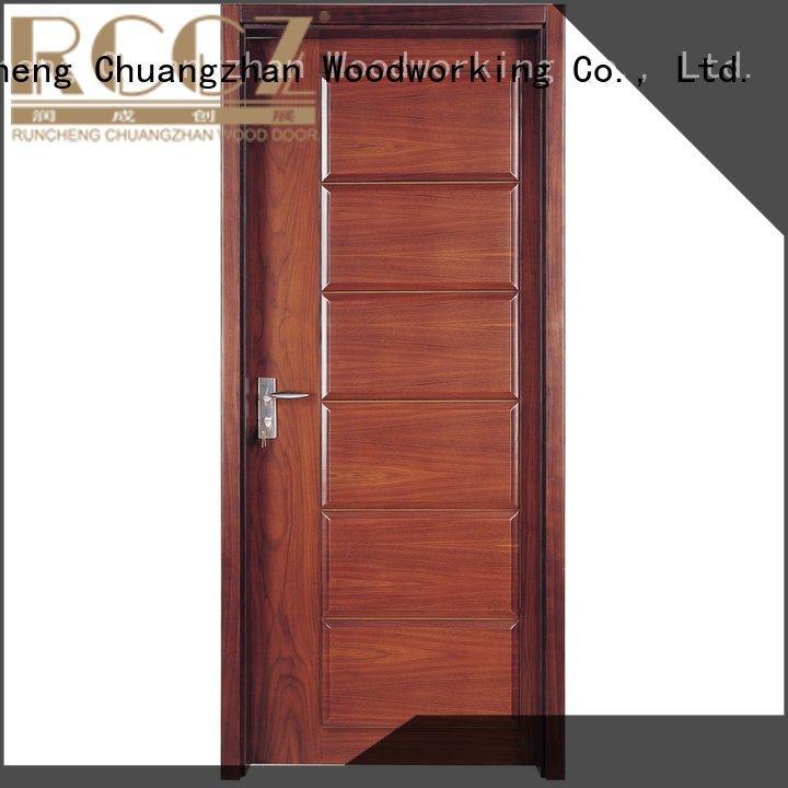 solid wood bedroom composite door s040 x0104 solid wood composite doors Runcheng Woodworking Warranty