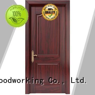 solid modern pure Runcheng Woodworking Brand wooden kitchen cabinet doors manufacture