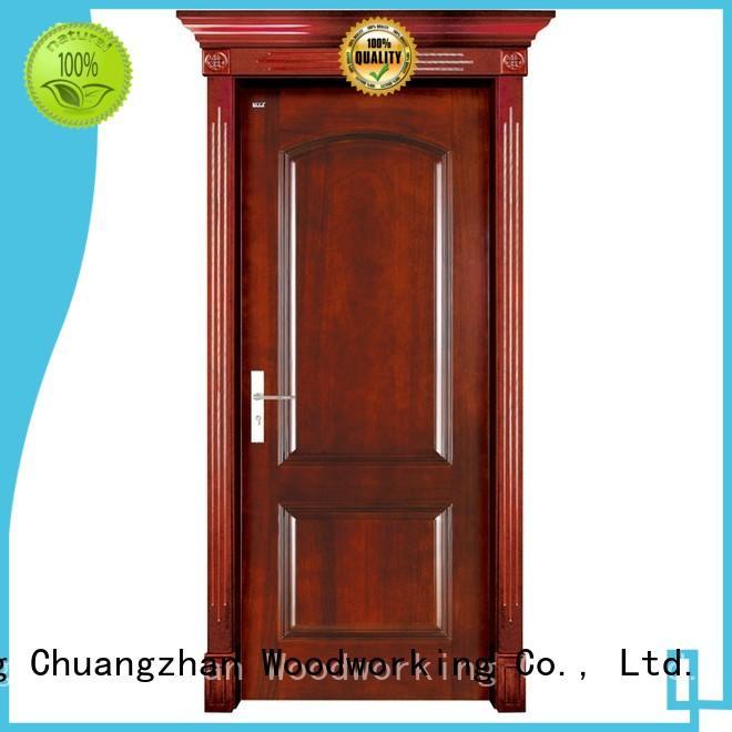 solid wood interior doors for sale pure wooden door Runcheng Woodworking Brand solid wood bifold doors