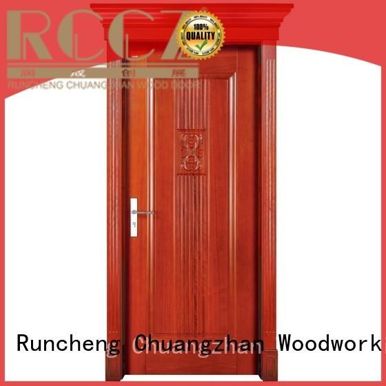 solid wood interior doors for sale solid interior Runcheng Woodworking Brand company