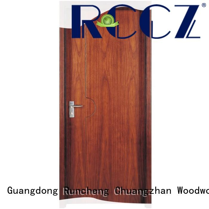 Runcheng Chuangzhan dedicated solid composite wooden door for business for hotels