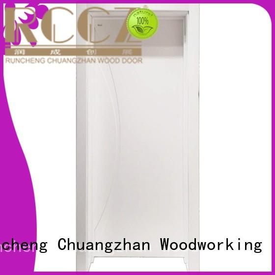 Runcheng Chuangzhan eco-friendly solid mdf interior doors manufacturers for offices