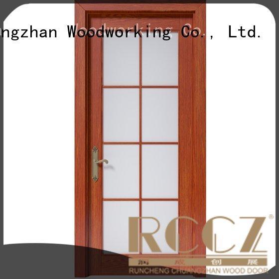 Runcheng Woodworking solid wood bedroom composite door k008 pp007 gk002 gk011