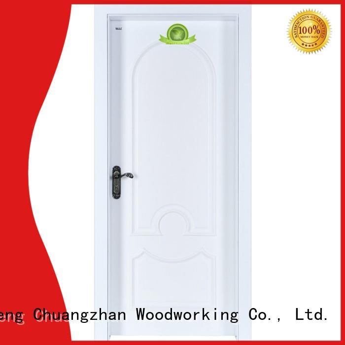 Runcheng Chuangzhan mdf mdf doors prices factory for indoor
