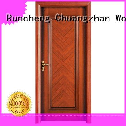 composited x019 x035 ck010 Runcheng Woodworking solid wood composite doors