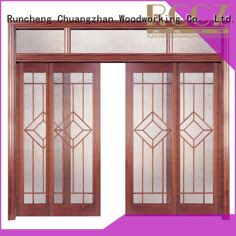 solid wood bedroom composite door x0104 wooden solid wood composite doors
