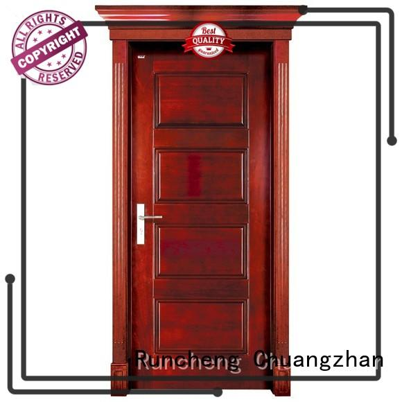 High-quality small wooden door wooden company for indoor