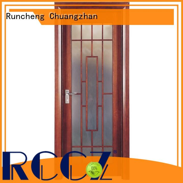 Runcheng Chuangzhan design rosewood composite door manufacturers for offices
